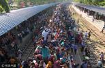 又到一年开挂时!孟加拉国宰牲节迎返乡潮