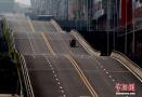 重庆现波浪形公路 司机称有腾空的感觉很刺激