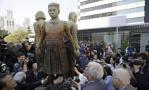 旧金山受赠慰安妇像 大阪市长:接受就取消友好城市