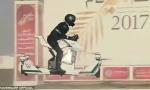 迪拜警方自行车会飞