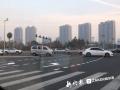 """哈尔滨30余处路口设置待转区 车主反馈""""很好用"""""""