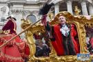 新任伦敦金融城市长举行就职巡游