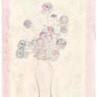 白瓶粉红菊