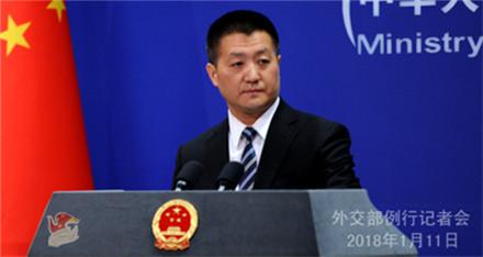 中国外交部:敦促美方慎重处理台湾问题