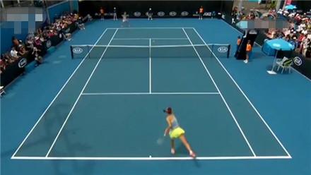 澳大利亚网球公开赛 仅丢一局 段莹莹强势晋级