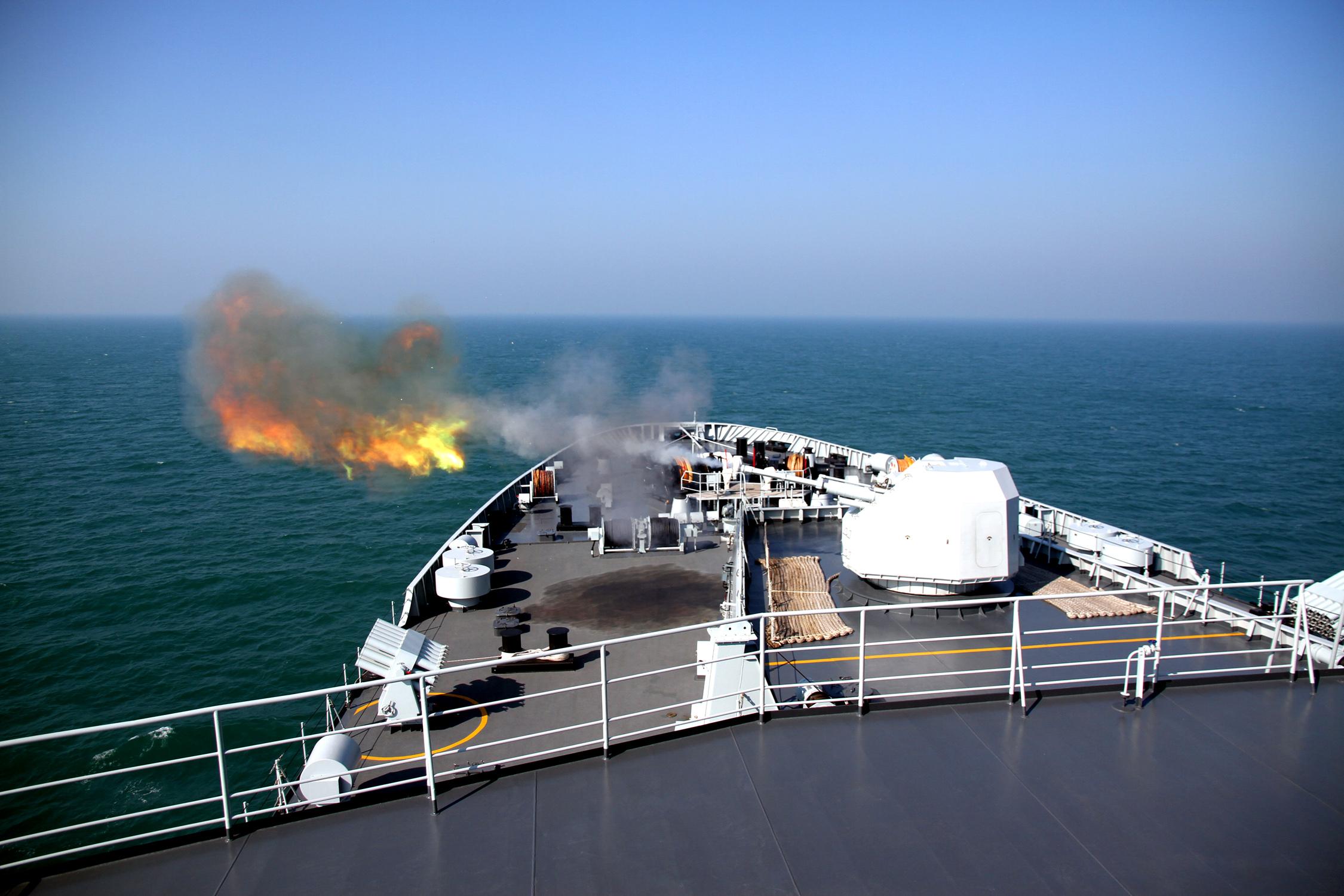 中国南海舰队大舰队