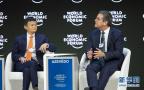 中国企业家出席世界经济论坛年会