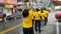 台湾团体被曝在地震灾区拍走秀片 还蹭吃救援食物