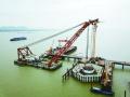 新动态!长江五桥进入水上施工阶段啦