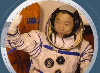 他们是中国航天员!