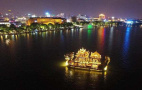 G20杭州峰会元首接待用船加入西湖夜游 装了防弹玻璃