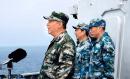 习近平南海阅兵照片