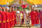 泰国举行春耕播种仪式