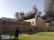 巴格达存放大选投票箱的仓库发生大火