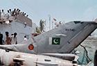巴基斯坦战机坠毁