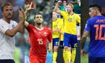世界杯19日:J罗复出斗三狮 瑞字辈鏖战16强