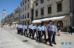 继意大利后,这群有型有款的中国警察再次帅到克罗地亚去了!