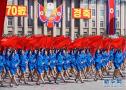 朝鲜国庆阅兵现场图