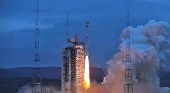 """中国成功发射""""海洋二号B""""卫星"""
