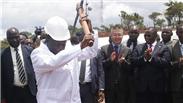 中国援建的津巴布韦新议会大厦开工