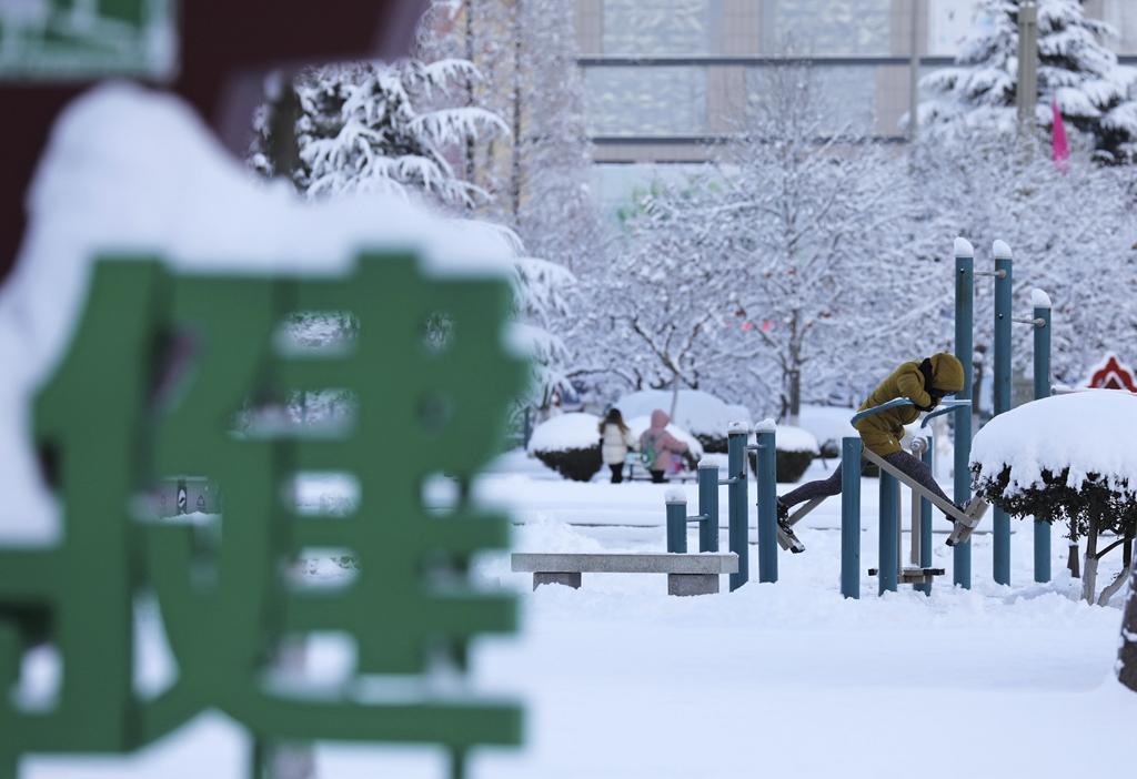 山东半岛迎来降雪