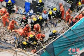 上海厂房倒塌事故已救出21名被困人员 其中7人死亡