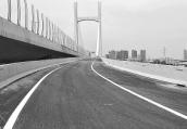农业路高架嵩山路上桥口今开通 两下桥口5月底前也将开通