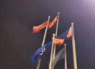 香港中联办严厉谴责极端激进分子侮辱国旗行径