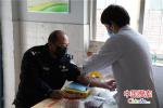 河南省地方铁路公安局周口分局积极为民警开展战时体检活动