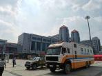 郑州市人防特种救援中心对郑州火车站地下人防工程进行气体检测