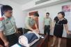 舟山边防开展紧急救护及健康知识培训进警营活动