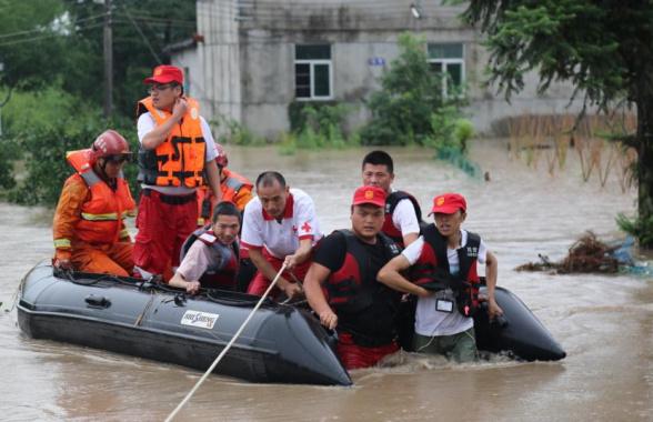 武义:抗洪抢险救援 谱写大爱之歌