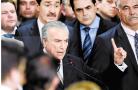 私家车冲撞巴西总统官邸大门 疑针对特梅尔涉贪