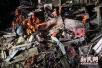 上海曹安公路华江路一旅馆坍塌事故5死1伤 搜救工作基本结束
