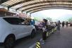 八达岭野生动物园熊扒游客车窗 园方:未接到受伤情况!