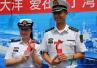 深蓝见证爱情:海军在亚丁湾为任务军官举办海上婚礼