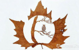 一片普通的叶子也能蝶变成唯美的艺术品