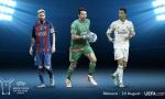 欧足联年度最佳球员 C罗梅西PK布冯