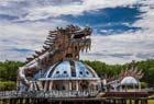 越南废弃公园似鬼城