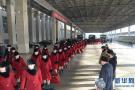 朝鲜艺术团赴韩画面