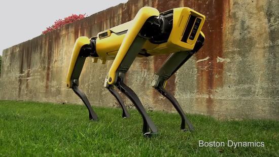 人类已经无法阻挡 解释波士顿动力机器狗开门过程