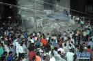 印度发生旅馆倒塌事故