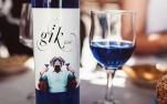 蓝色葡萄酒也出现了!