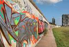 柏林墙涂鸦变画布