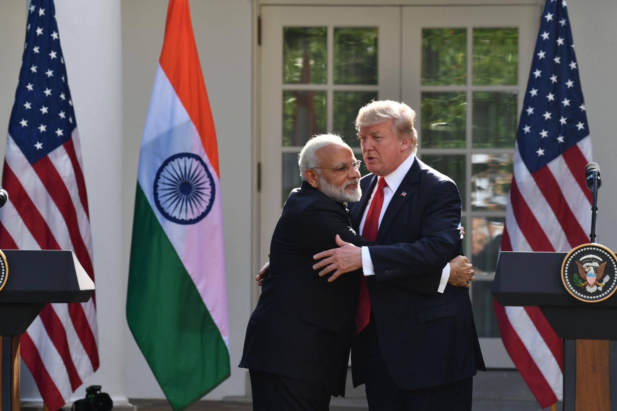 特朗普本月访印