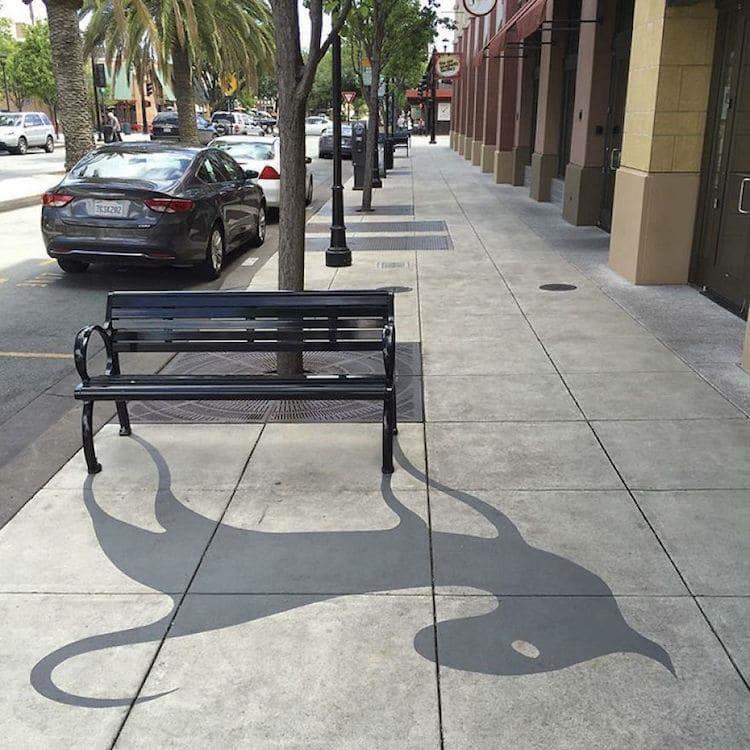 异想天开的创意 影子里的艺术