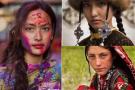 全球50国女性面容
