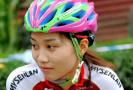 自行车赛上的美女