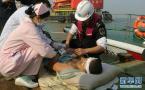 珠江口撞船救起7人