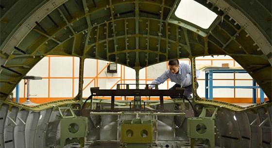 中國造C919大型客機第三架機頭即將交付